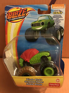 PIRATE-PICKLE-Blaze-and-the-Monster-Machines-Fisher-Price-Die-Cast-Nueva