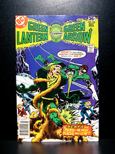 COMICS-DC-Green-Lantern-106-1978-Green-Arrow-app-Mike-Grell-art-RARE