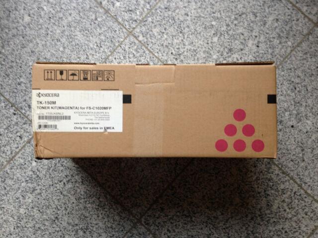 Kyocera original Toner TK-150 magenta neu, mit Rechnung.
