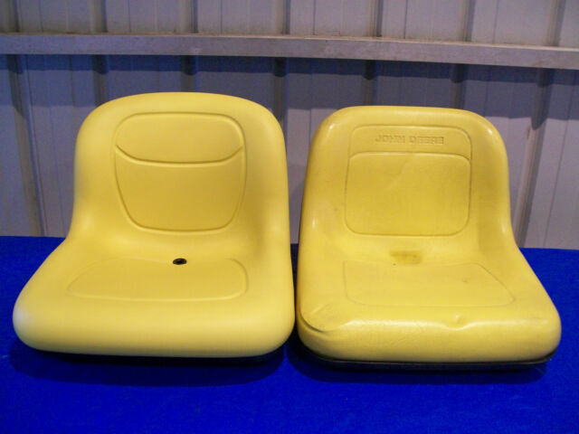 JOHN DEERE YELLOW SEAT FOR 2210 COMPACT TRACTORS WITH PIVOT STYLE SEAT   #NI2