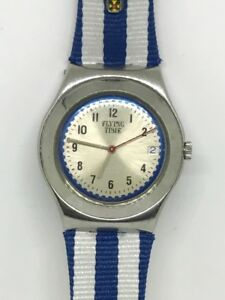 2001-Rare-Swatch-Watch-Flying-Time-YLS415P-Irony-10k-made-Ltd-Vivienne-Westwood