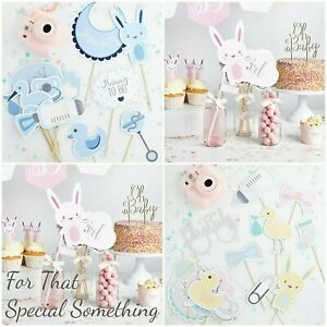Baby-shower-Photo-props-Assorted-UNISEX-Variety-of-colours