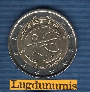 2 euro Commémo Belgique 2009 EMU UME Belgium