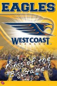 AFL-West-Coast-Eagles-Logo-POSTER-61x91cm-NEW-Aussie-Rules-Footy-Team