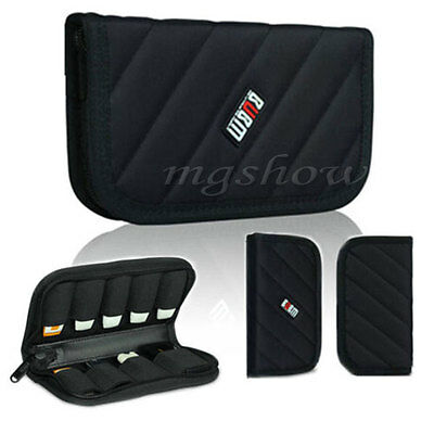 BUBM Carrying Organizer Case Storage Protection Pouch Bag for 9 USB Flash Drives