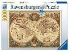 17411 Ravensburger Antique World Map 5000pc Adult Jigsaw Puzzle