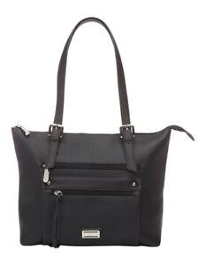 NEW-Cellini-Sport-Nora-Front-Zip-Tote-Bag-Black