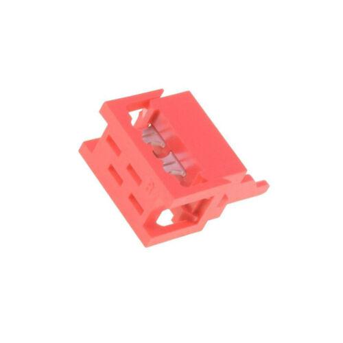10x DS1015-01-04R6 Stecker Leitung-Platte männlich PIN 4 IDC für CONNFLY