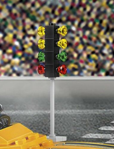 Only Traffic Light Signal For Race ☆NEW☆ Lego City