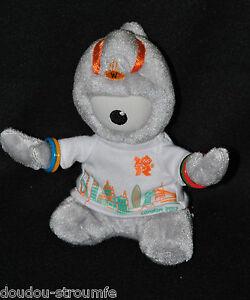 Peluche-Doudou-Wenlock-Mascotte-Jeux-Olympiques-De-Londres-2012-15-Cm-Etat-NEUF