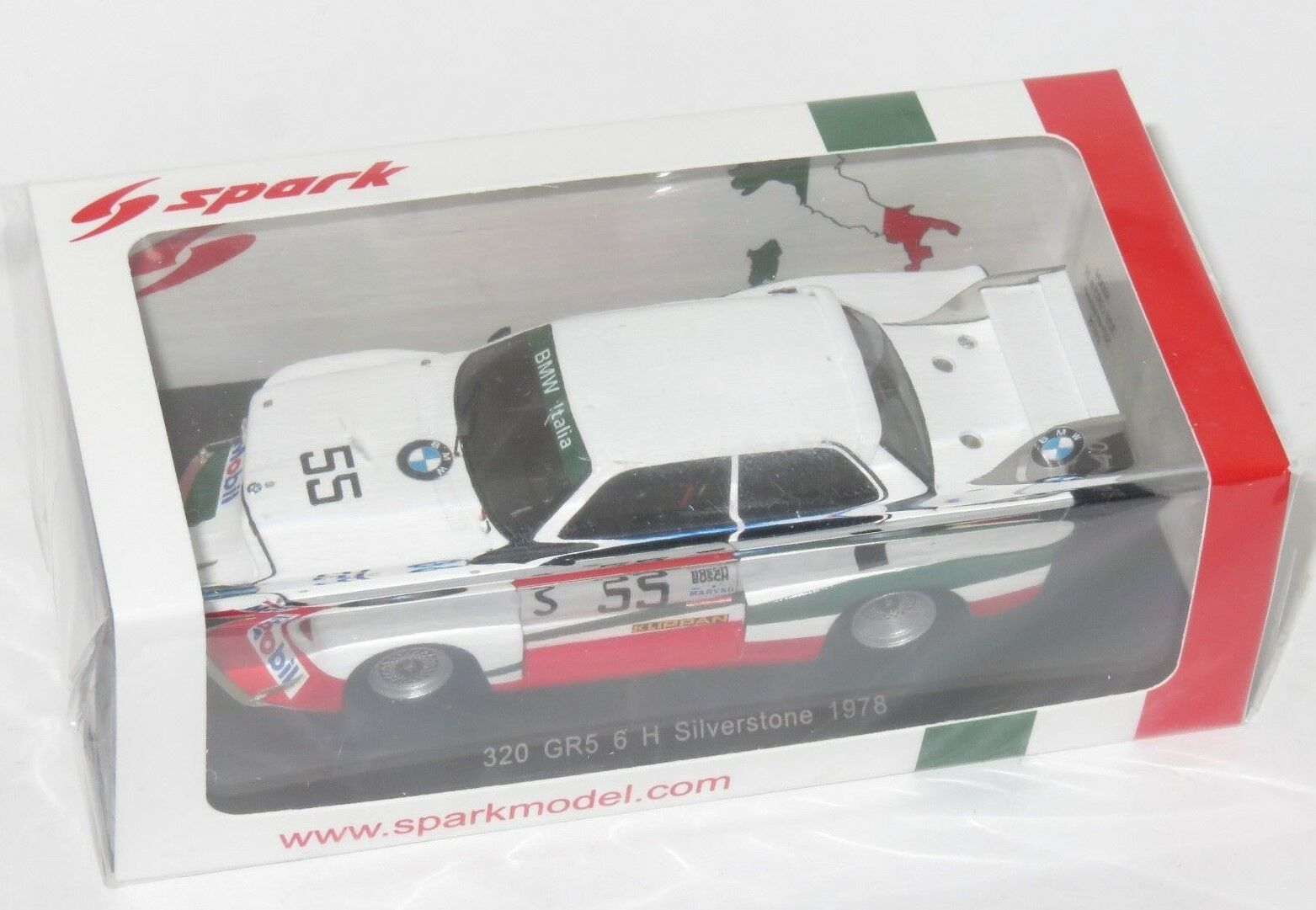 1 43 BMW 320 Grp.5 6 horas platastone 1978 U. Francia U. Grano