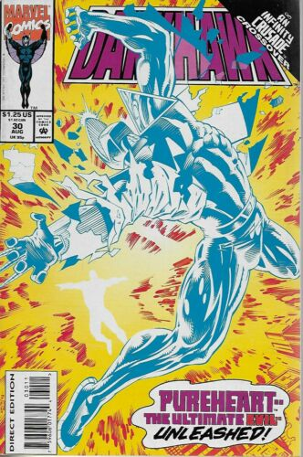 Danny Fingeroth /& Anthony Williams 1993 Infinity Crusade Darkhawk No.30
