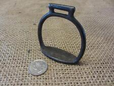 Vintage Cast Iron Stirrup For Toy Horse   Antique Old Western Farm Bits 9575
