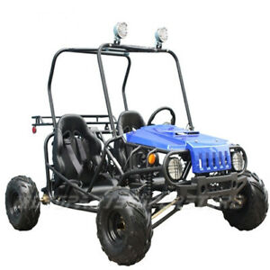 Details about NEW 110cc Go Kart with Semi-Automatic Transmission w/Reverse