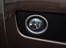 CHROME BUMPER FOG LIGHT LAMP TRIM COVER SURROUNDS SET FOR VW VOLKSWAGEN AMAROK