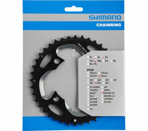 Fahrrad Kurbel Kettenblatt Shimano Deore XT FC-M782 40 Zähne 4 Loch