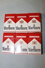 Lot of 6 Marboro Mini Flip Top Box Matches 1996 NEW