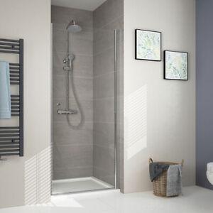Bevorzugt Duschwand Schwingtür Dusche Glastür 70/80/90 cm Duschkabine XF13