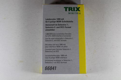 Neuware. Minitrix 66841 Spur N Lokdecoder für 6-polige-NEM-Schnittstelle