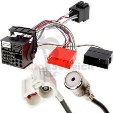 Radio Navi Antennen Adapter Kabel Kabelsatz für Audi RNS-E Einbauset Fakra Aux