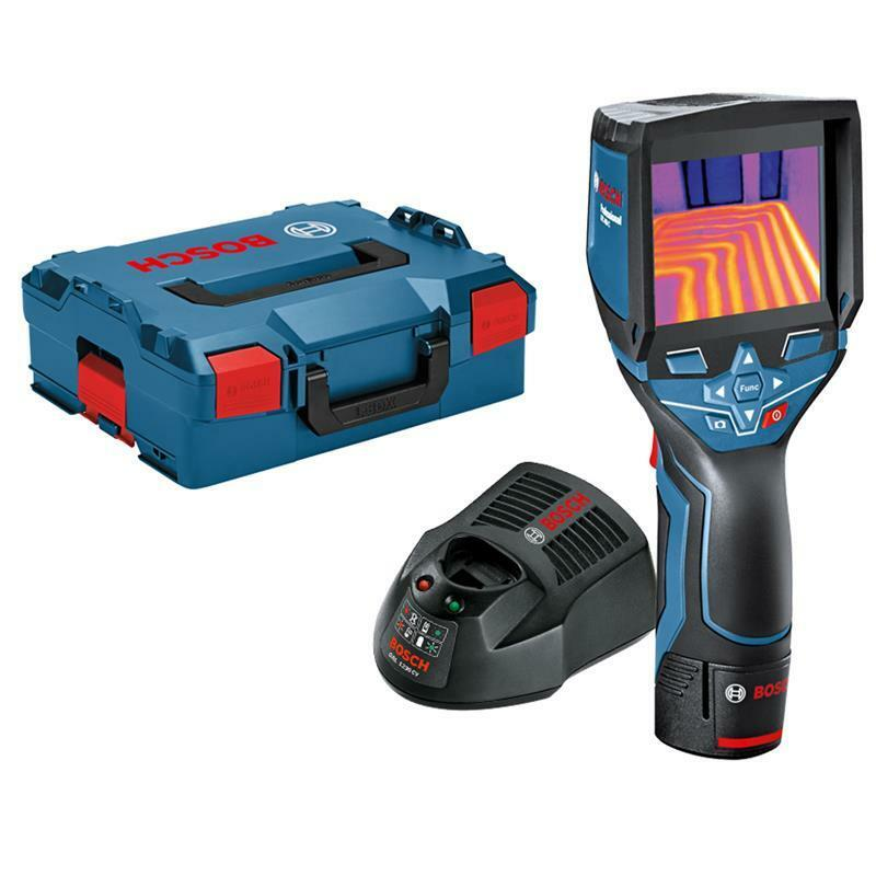 Bosch Wärmebildkamera GTC 400 C Professional Set inkl. Akku , Ladegerät, L-Boxx