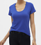 Banana-Republic-Women-039-s-Timeless-Short-Sleeve-Scoop-Neck-Tee-T-Shirt thumbnail 8