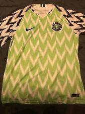 c20fb297e 2018 Nike Nigeria Mens Home Soccer Jersey Kit 893886-100 WORLD CUP XXL 2XL  Naija