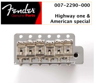 NEW Bridge FENDER STRATOCASTER  H1 /& American special 0072290000 pour guitare US
