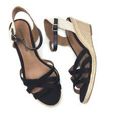 31467c9d4a4a item 8 Lucky Brand Women s 8 M Black Kalley Espadrilles Wedge Sandals EUR  38 -Lucky Brand Women s 8 M Black Kalley Espadrilles Wedge Sandals EUR 38