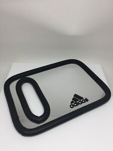 online retailer 2a33b e26e7 Details about Adidas Mirror Authentic Adidas Hand Held MIRROR DISPLAY Hand  Held MIRROR BLACK