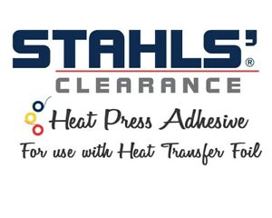 """15 Ft - Stahls Clearance Quick Stick HTV Yellow 12/"""" x 5 Yards"""