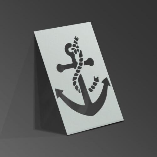 Âncora estêncil Shabby Chic Marinheiro Mylar Folha De Pintura Wall Art Kids 190 Micron