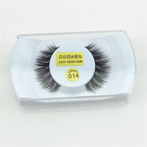 Black-14-100-Real-Mink-1cm-Long-Natural-Thick-False-Eye-Lashes-Eyelashes