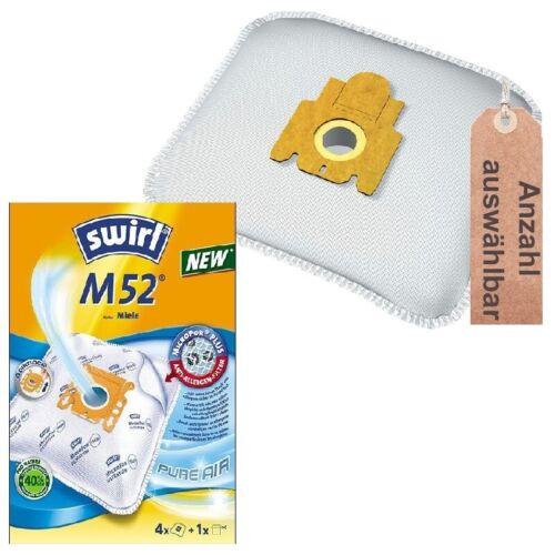 Swirl m52 ou disba m705m Sacs pour Aspirateur Filtres Sacs Convient pour Miele S 164