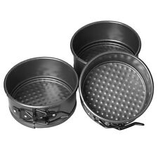 "Wilton Mini Springform Pan Set - 4"" - Non-stick - 3 pcs"
