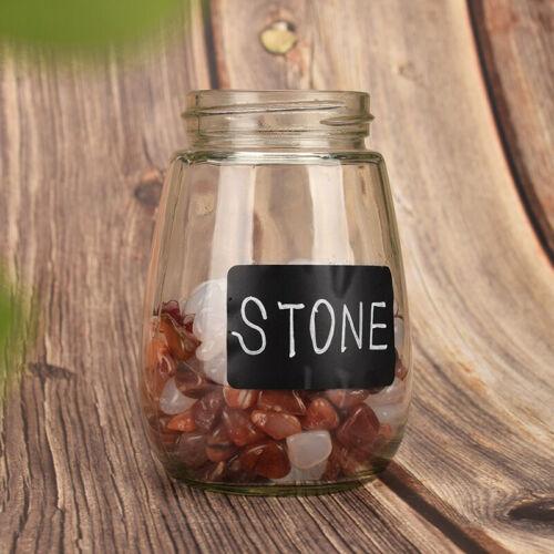 120 stücke Wasserdichte Tafel Küche Spice Label Aufkleber Marmeladenglas FlYDI