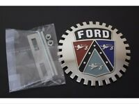 Ford Emblem Grille Badge Accessory Ford Emblem Fairlane Galaxie Falcon Bronco