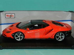 Maisto Special Edition 1 18 Lamborghini Centenario Red Mib