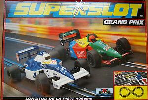 SUPERSLOT-HORNBY-CIRCUITO-GRAND-PRIX