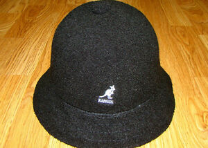 73f0ad3e1d1317 Image is loading Black-KANGOL-Bermuda-Casual-Bucket-Hat-Style-0397BC