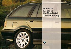 BMW-3-Series-Touring-E36-1995-UK-Market-Launch-Foldout-Sales-Brochure-320i-328i
