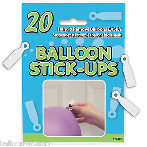 20-Hanging-Balloon-Stick-Ups-Ceiling-Wall-Stickers-Birthday-Party-Decorations