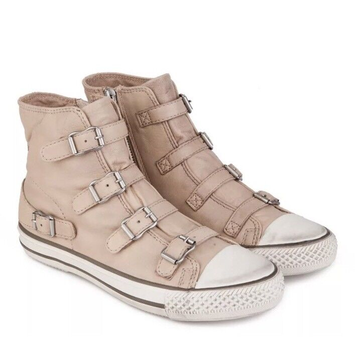 Men/Women NIB ASH WOMEN'S VIRGIN LEATHER SNEAKER Ideal gift for all occasions a wide range of products The first batch of customers' comprehensive specifications