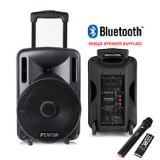 item 1 Portable PA System Active Speaker Battery Powered Bluetooth   UHF  Microphone 10
