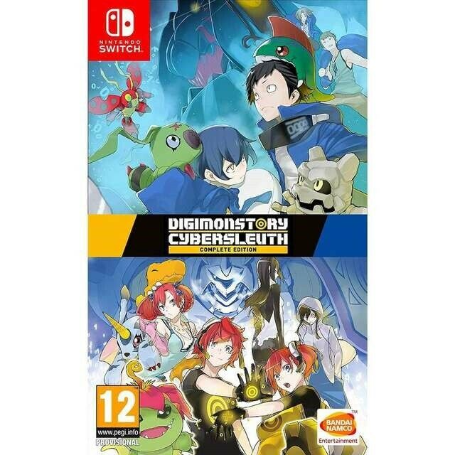 Digimon Story Cyber Sleuth - Complete Edition, Nintendo