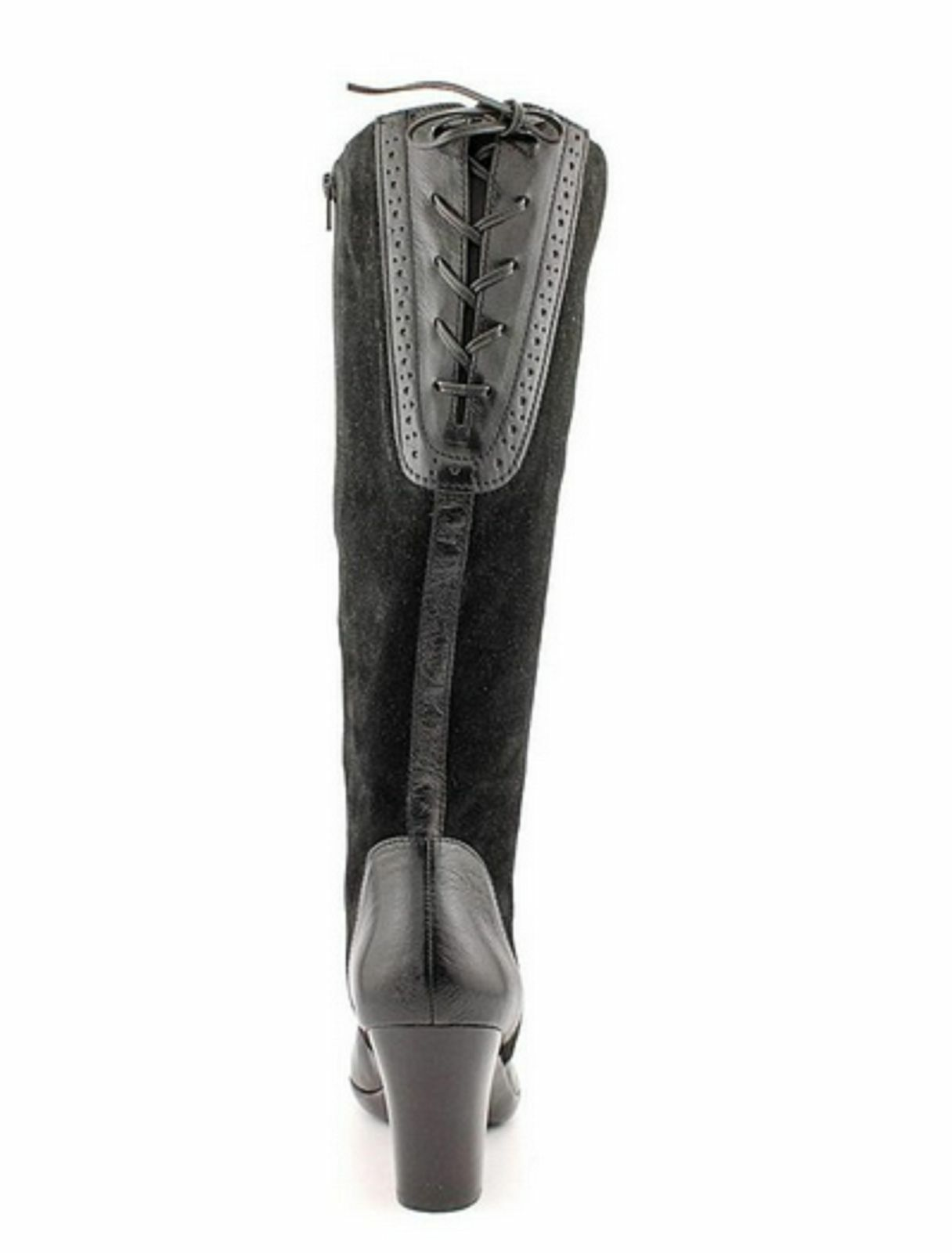 Naturalizer Womens Milano Black Suede Leather Wide Shaft Shaft Shaft Size 6 M & WIDE SHAFT 4bcd97