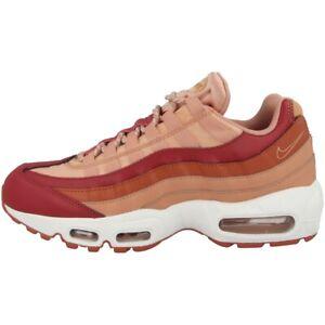 Détails sur Nike Air Max 95 Chaussures de Sport pour Dames Crimson Peach 307960 607