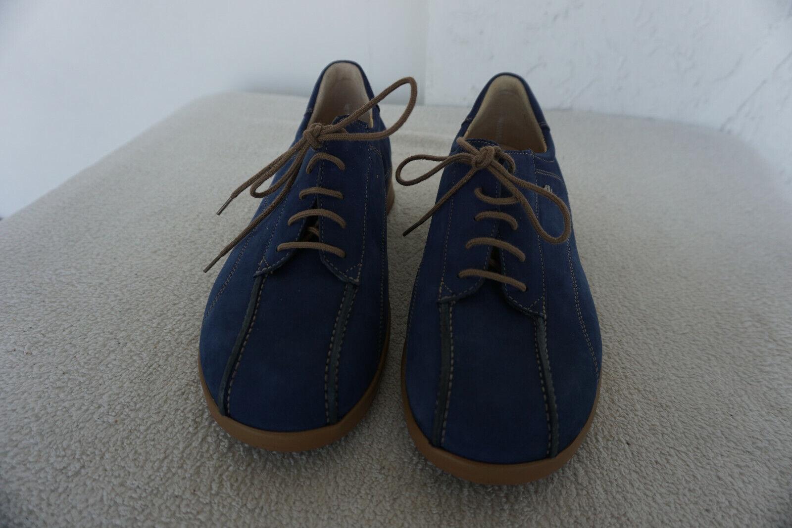 Finn Comfort Chaussures femmes avec des dépôts schnürschue taille 39 marine nubuk cuir NEUF