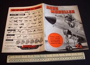 Aeromodeller Mag (March 1956) K&B Allyn Sky Fury + Mamiya 15 + Super Tigre G20