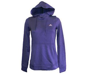 b4cf10e56def Adidas Women s Climawarm Transit Light Weight Fleece Hoody Sz L ...